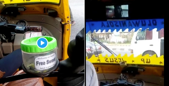 "Man Shares His Experience After Boarding ""executive"" Keke In Lagos (Video)"