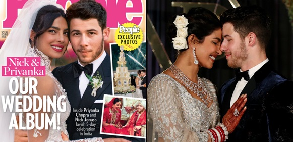 Newly Wedded Priyanka Chopra And Nick Jonas Cover People Magazine Latest Edition As They Open Up About Their 'Emotional' Wedding