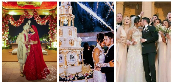 Official Photos From Priyanka Chopra And Nick Jonas Indian And Western Wedding