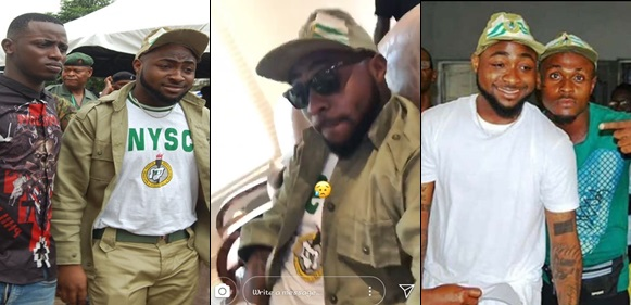 NYSC Sanctions Davido For Violating Many Of The Scheme's Rules