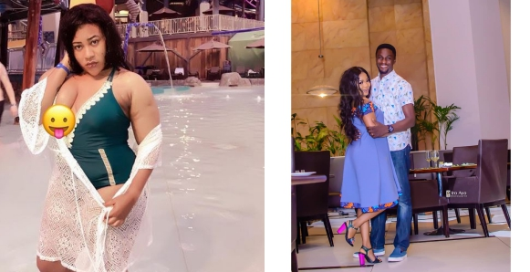 Nkechi Blessing Blasts Adeniyi Johnson And His Actress Girlfriend, Seyi Edun; Calls Him A One-Minute Man
