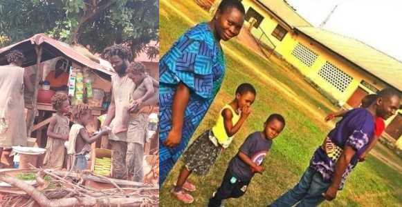 Amazing New Picture Of Family Of Five Plagued With Madness In Cross River