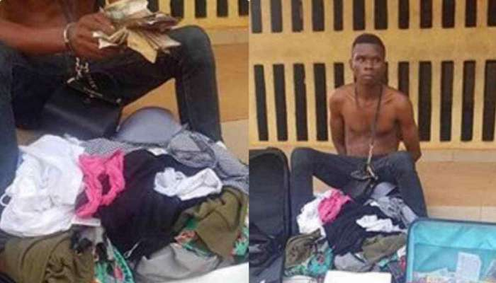 Man Arrested For Robbing His Cousin On Holiday In Nigeria