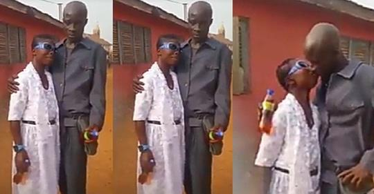 Newly Married Couple's Wedding Footage Amuses Social Media Users (video)