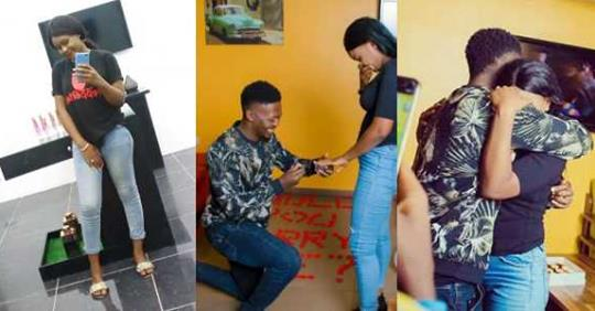 Nigerian Lady Set To Marry Man She Asked Out On Facebook (photos)
