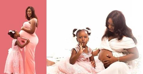Simi Shares Photos From Her Maternity Shoot
