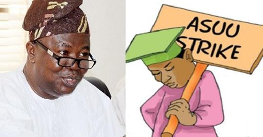 ASUU Strike: No Agreement Reached With Federal Government – Prof Ogunyemi