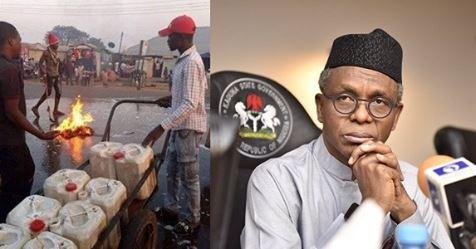 Kaduna State Residents Wash Their Streets With Soap And Water Shortly After Governor El-Rufai's Visit (Photos)