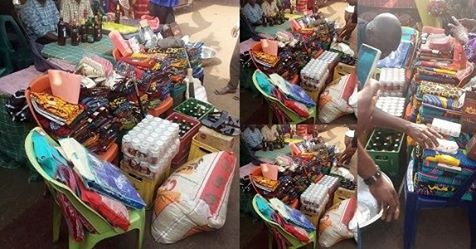 'This Is Daylight Robbery' – Nigerian Man Laments Over The Amount Of Things Presented To His Bride's Family For Introduction In Imo State