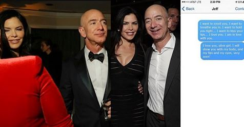Jeff Bezos Sent Steamy Text Messages And Photo Of His Genitals To Married TV Anchor (screenshots)