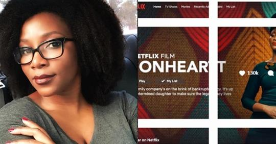 Genevieve Becomes First Nollywood Billionaire As Netflix Buys Lionheart For N1,385,100,000($3.8 Million).
