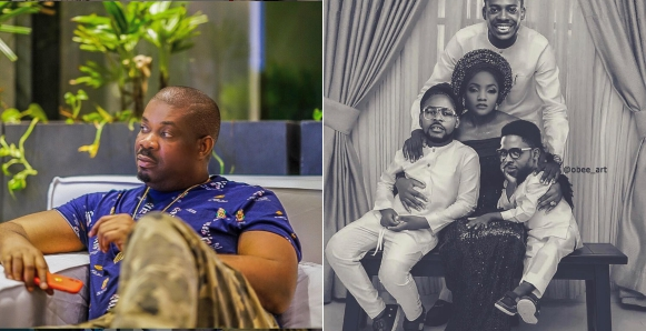 Don Jazzy Reacts To Simi And Adekunle Gold's Wedding With Hilarious Photo