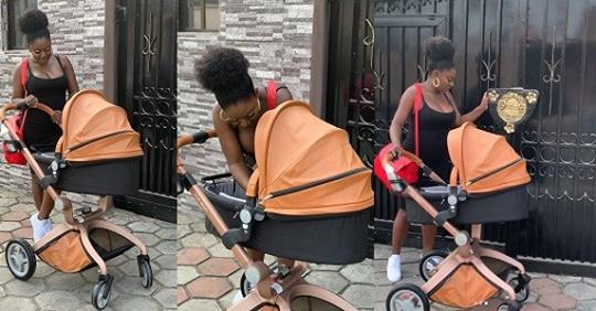 Actress, Yvonne Jedege Shares New Photos Of Herself With Her Newborn Son