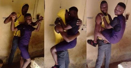 Nigerian Man Sparks Outrage On Facebook After Showing Off His 'underage Girlfriend'