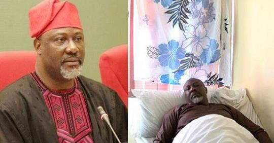 Masked Officers Whisk Dino Melaye Out Of Police Hospital