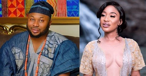 Tonto Dikeh's Ex, Olakunle Churchill Replies Her She Said She Wasn't Going To Reconcile With Him