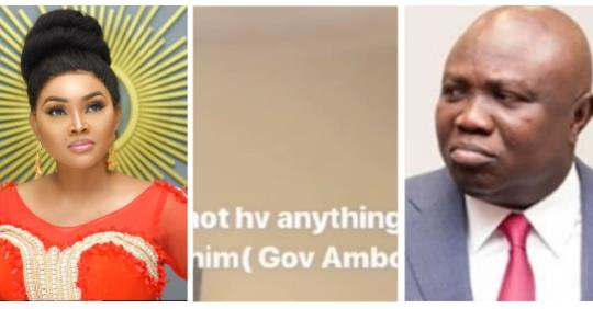 I Have Not Met Gov. Ambode Before – Mercy Aigbe Cries Out In Canada (Video)