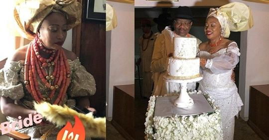 Actress, Eku Edewor's Mum Remarries, See Photos From The Traditional Wedding.