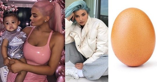 Egg Beats Out Kylie Jenner To Become The Most Liked Photo On Instagram