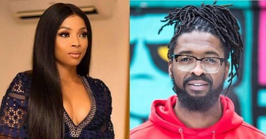 Toke Makinwa Shoots Her Shot At Basketmouth's Brother, He Replies.