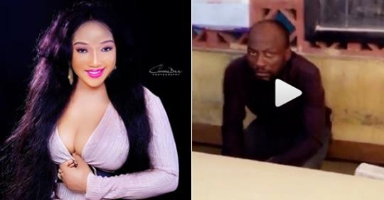 Nollywood Actress, Christabel Egbenya Catches Thief Who Returned To Her Shop To Steal Again After 6 Months (Video)