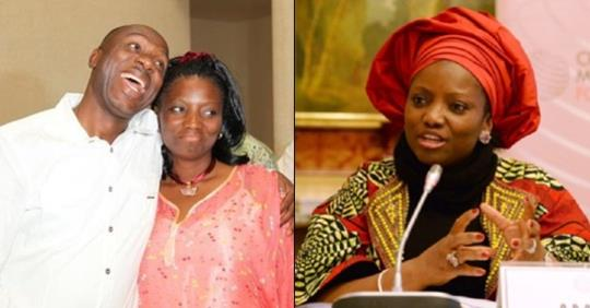 Amaechi's Wife Speaks On Leaked Audio Tape, Begs Women To Pray For Her Husband