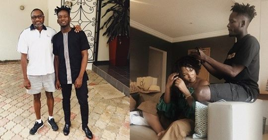 Future Son-in-law? Otedola Shares Photo With Mr Eazi