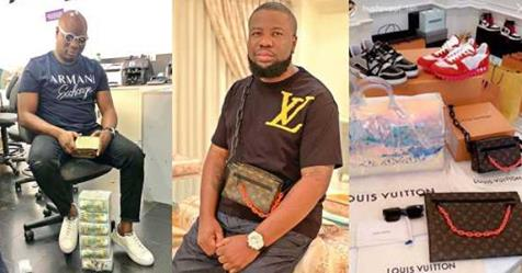 Beef Reignited As Mompha, Fires Back At Hushpuppi Over Shade