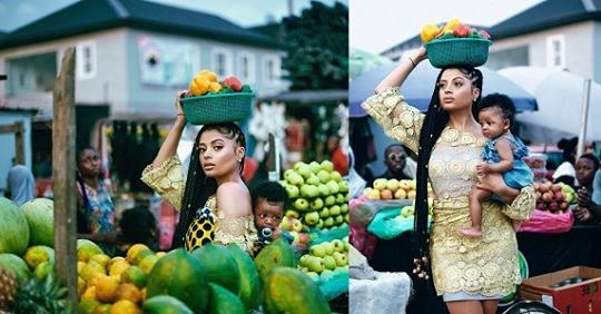 Lola Rae Shares Lovely Photos Of Her Baby With Tekno As She Celebrates Her Birthday