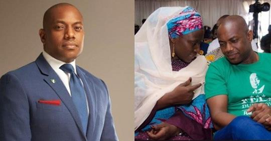 """#2019Debate: Feminists On Twitter Go Hard At Fela Durotoye For Describing His Running Mate As A """"beautiful And Delectable"""" Lady"""