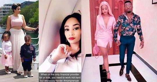 Zari Hassan Confirms Her Ex, Diamond Platnumz Is A Dead Beat Dad
