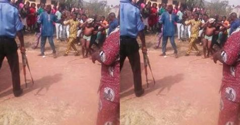 Male Student Apprehended After Boxers Of His Male Classmate Was Found Tied With A Charm Inside His Wardrobe (Photo)