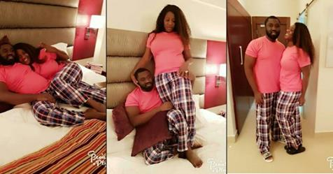 Mercy Johnson And Husband Share Bedroom Photos, Rock Matching Pyjamas