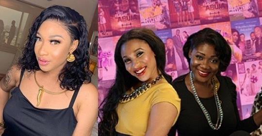 """All Those My Childish Fight Was Envy"" – Tonto Dikeh Gushes Over Mercy Johnson; She Responds"