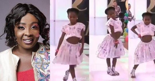 OAP Lolo Shares Video Of A Little Girl Strutting On The Runway