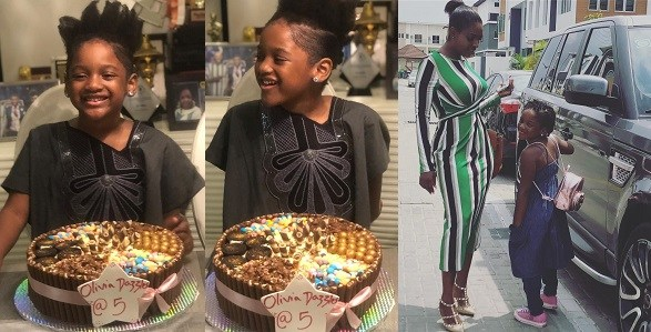 2Face And Annie Idibia Celebrate Daughter, Olivia As She Turns 5 (Photos)