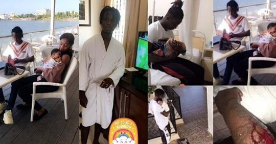 After Dumping Her For Stabbing Him In The Arm, Nigerian Man Professes Love For His Baby Mama Hours Later (Photos + Video)