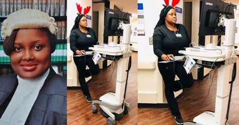 Meet This Stunning Nigerian Lady Who Is A Lawyer And Is Now Training As A Medical Doctor (Photos)