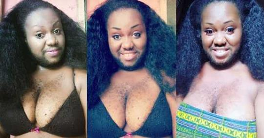 Nigeria's Hairiest Woman Shows Off Her Assets, Says She's Looking For Real Love (Photos)
