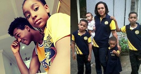 Emeka Ike Shares New Photo Of His Kids And They're All Grown Up!