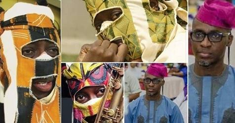 Lagbaja's Real Face Revealed By Nollywood Actor