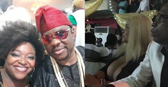 Wunmi Obe Reacts After Cossy With Her Bo.obs Sat Opposite Her Husband (Photo)