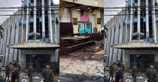 Many Lives Lost As Terrorists Bomb Catholic Church In Philippines