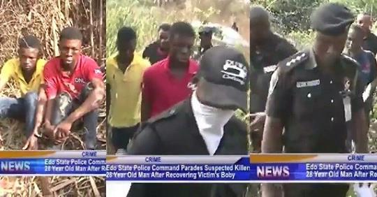 Police Arrest Robbers Who Killed Furniture Maker After Luring Him Into Bush In Edo