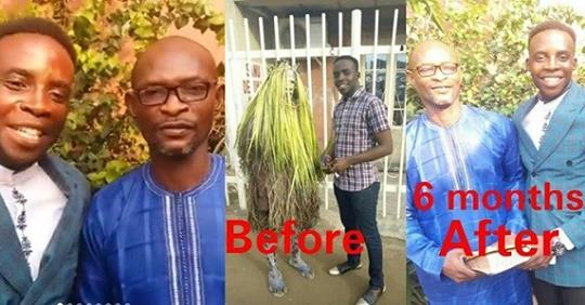 Masquerade Converts To Christianity; Becomes Evangelist In 6 Months After An Evangelist Preached To Him (Photos)