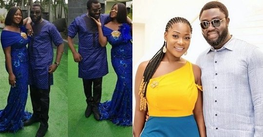 Nollywood Actress, Mercy Johnson And Husband All Loved-up In New Photos