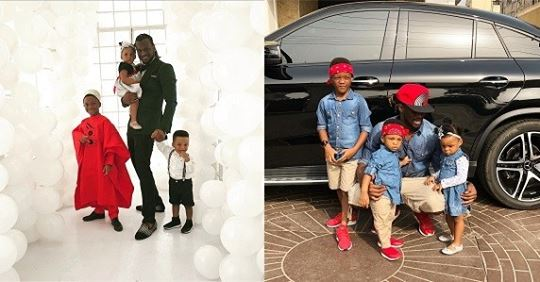 Paul Okoye Releases Gorgeous New Photo Of Himself With His Kids