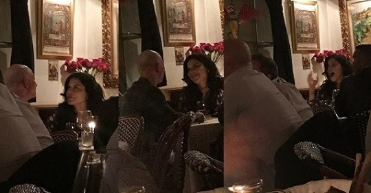 World's Richest Man Jeff Bezos And New Girlfriend Spotted Gazing Into Each Other's Eyes 3-months Before He Announced Divorce From Estranged Wife (Photos)