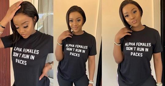 Davido's Girlfriend, Chioma Glows In New Photos As She Returns Back To Instagram