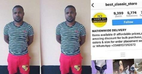 Nigerian Man Jailed For Instagram Business Page Scam